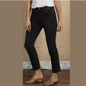 Soft Surroundings 5-Pocket Pull On Crop Jeans